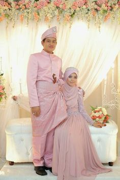 Baju Pengantin Dusty Pink Google Search Wedding Dress Wedding