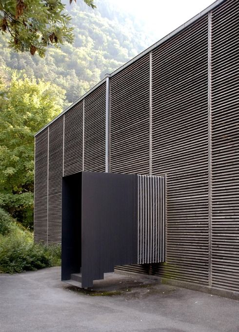 Shelters for Roman Archaeological Site Peter Zumthor