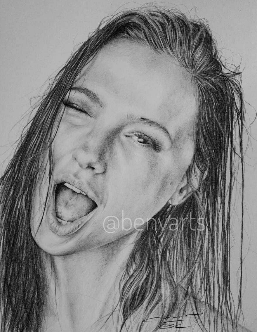Instagram Sketch Portrait Black And White