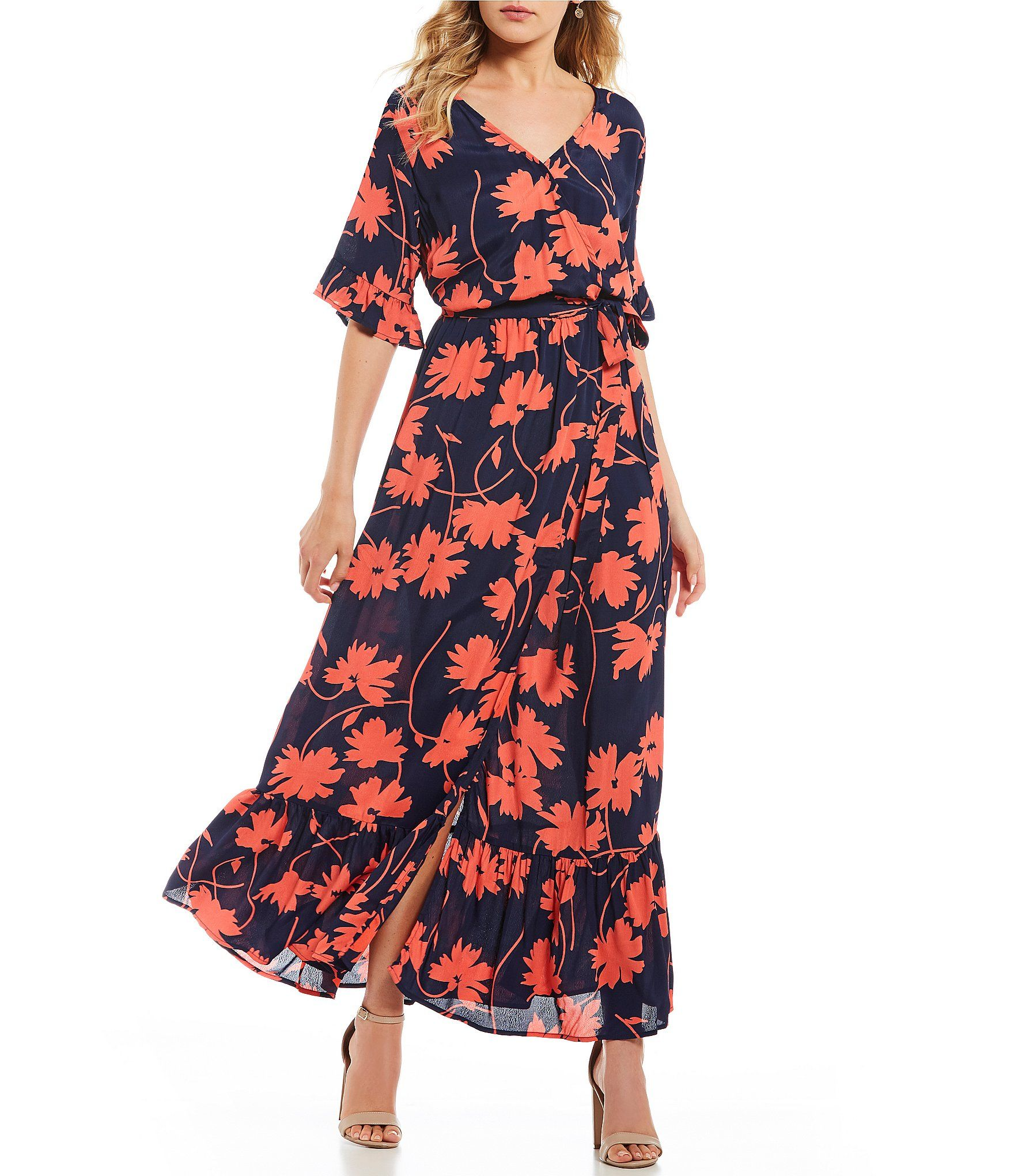 dea2aefc21 Shop for Lucy Love Floral Print Enchanted Wrap Dress at Dillards.com. Visit  Dillards.com to find clothing
