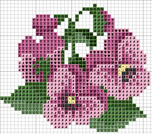 Схемы вышивки цветов онлайн