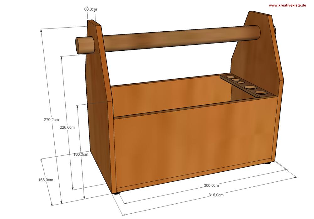 Bevorzugt Holz Werkzeugkiste Bauanleitung | Werkstatt in 2019 MF16