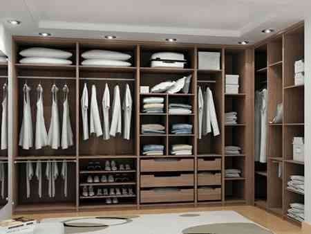 Elegant casa guarda roupa planejado . 2018 Casa Elbise Dolapları