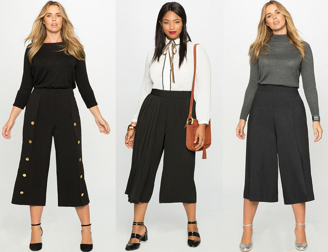 c9f8a72738789 Shapely Chic Sheri -Trend to Try  Wide-Leg Pants (Plus-Size Options)   plussize  plussizefashion  falltrends