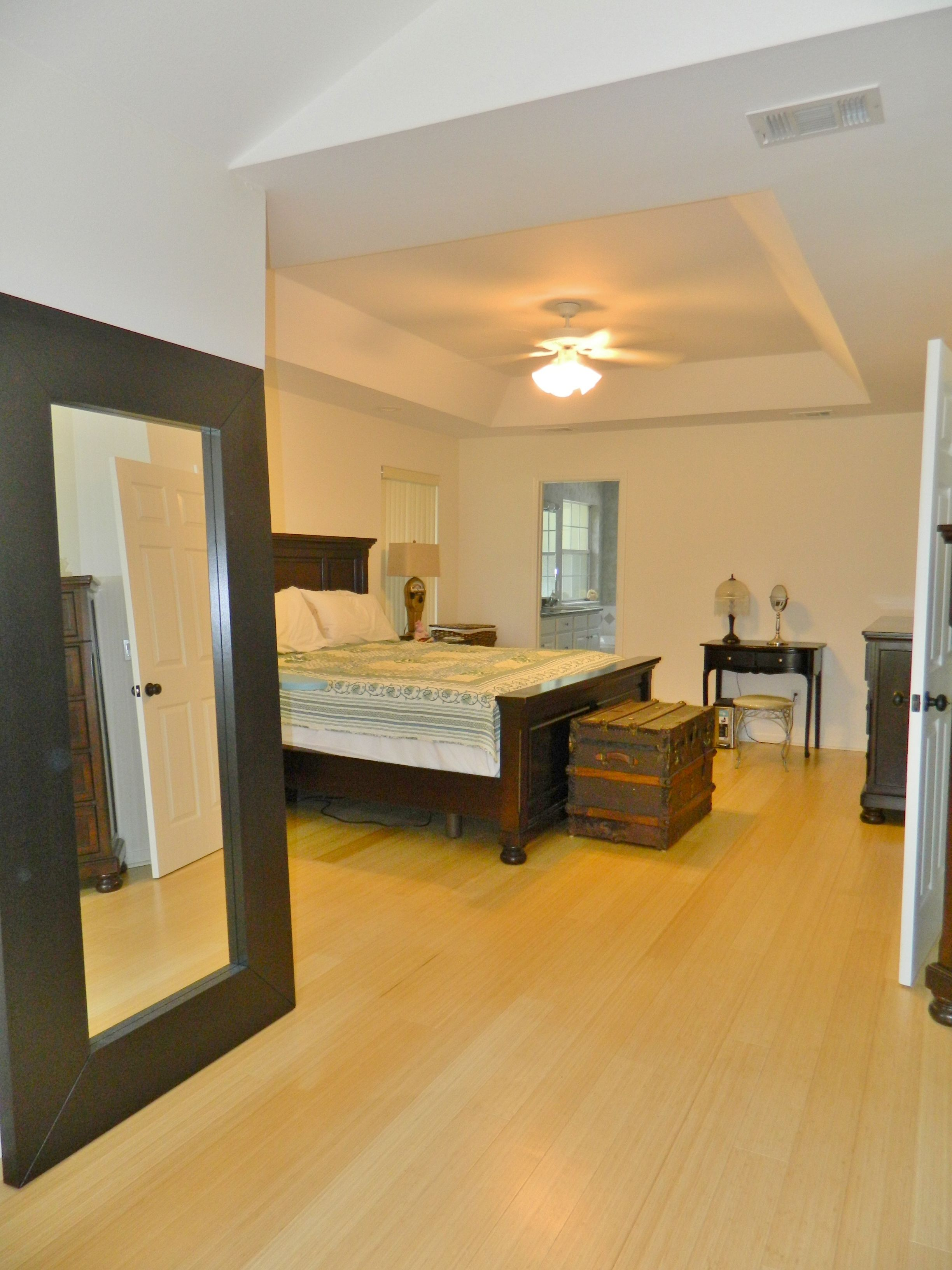 master bedroom suite in this Tallahassee home
