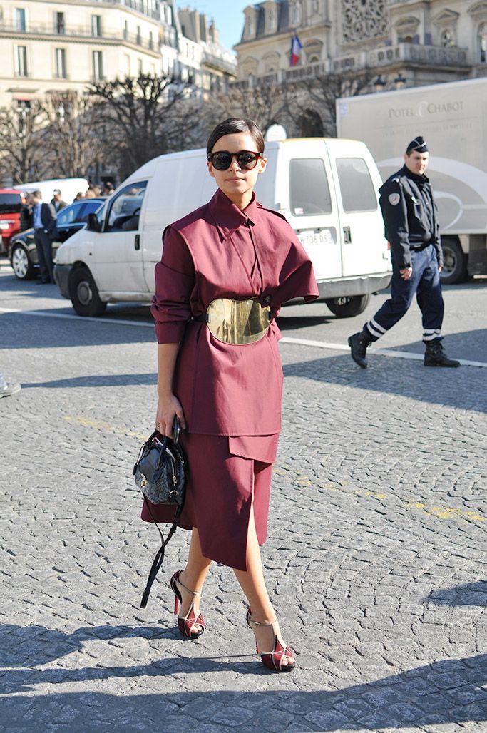 Miss Mira in A.W.A.K.E. in Paris. #MiroslavaDuma
