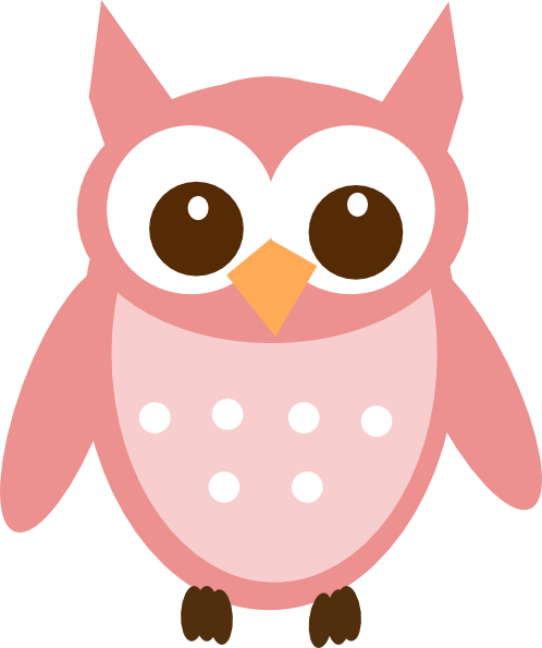rose pink owl clip art vector online royalty free clipart best rh pinterest com
