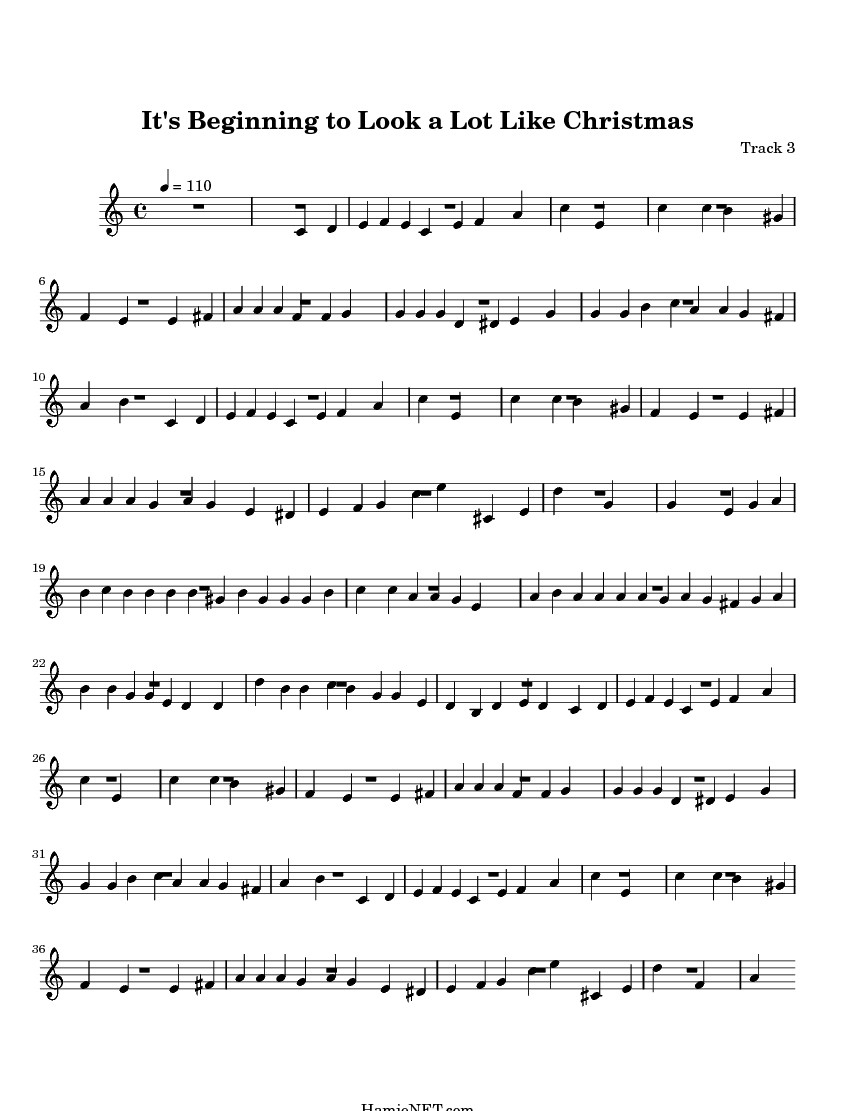 It\'s Beginning to Look a Lot Like Christmas Sheet Music - It\'s ...