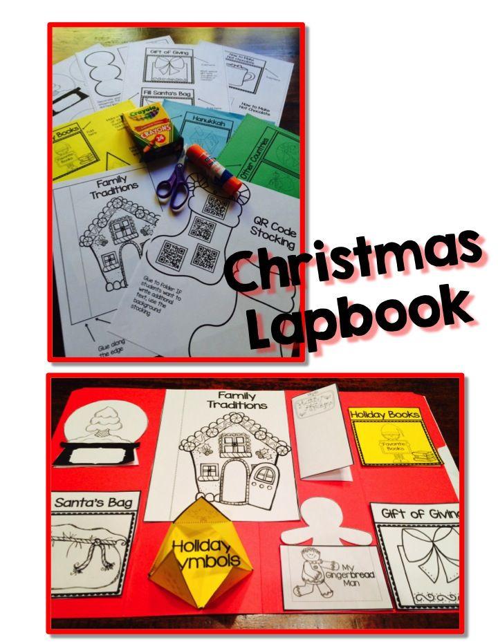 HOLIDAY (CHRISTMAS) ACTIVITIES Christmas Interactive Lapbook