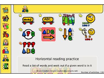 Gcompris Reading Gratis Software Laeringsspil Ogsa Pa Dansk Undervisning Organisering Ideer