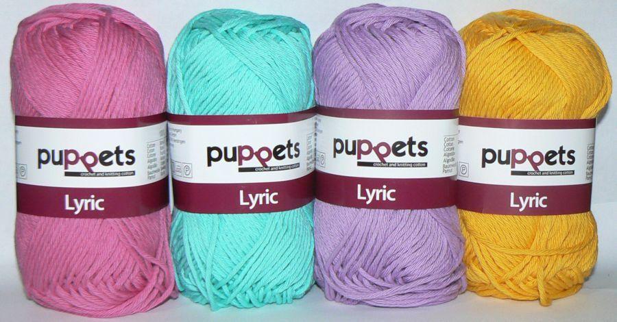 Puppets LYRIC Crochet & Knitting Cotton 8/8 - yarn source