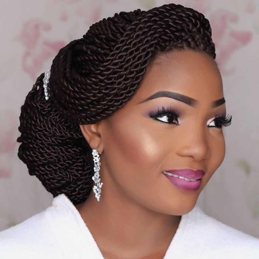 Black Braided Wedding Hairstyles: 2018 Natural Hairstyles For Black Women