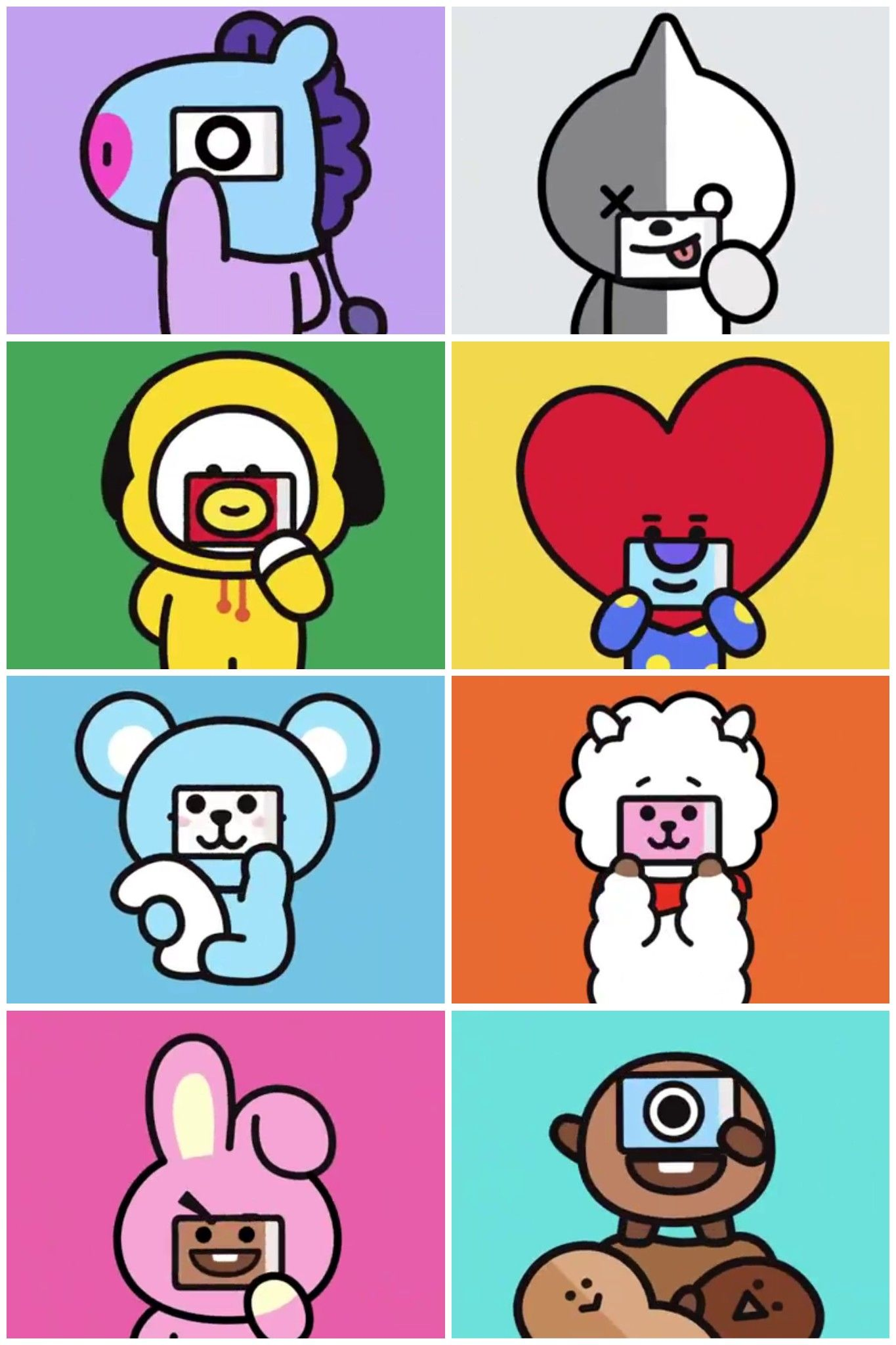 Wait, who's who? 😲 #BT21