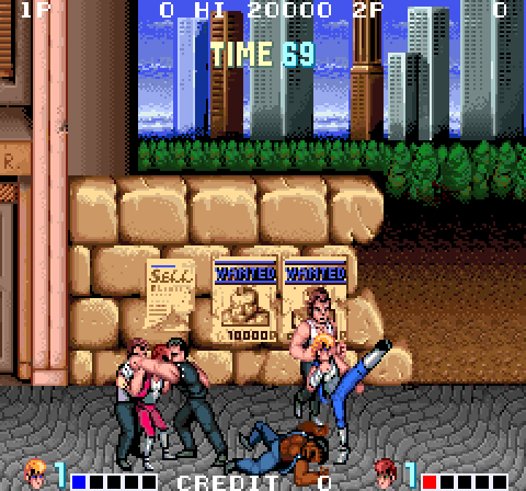 Double Dragon 1 S Ending Secret Boss Double Dragon History Of Video Games Retro Game Store