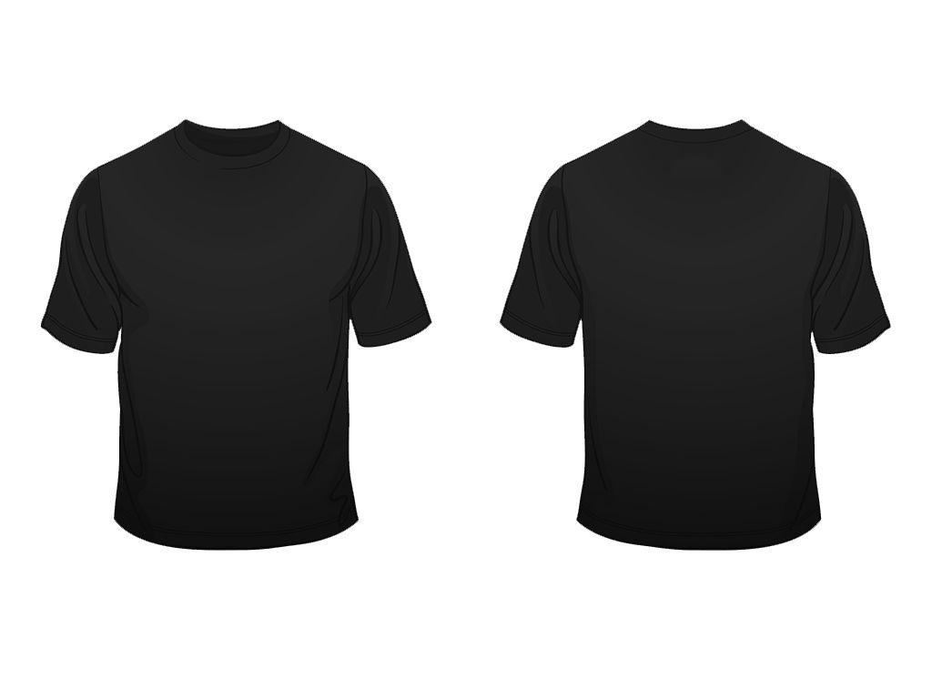 Black T Shirt Layout Shirt Template T Shirt Design Template Plain Black T Shirt