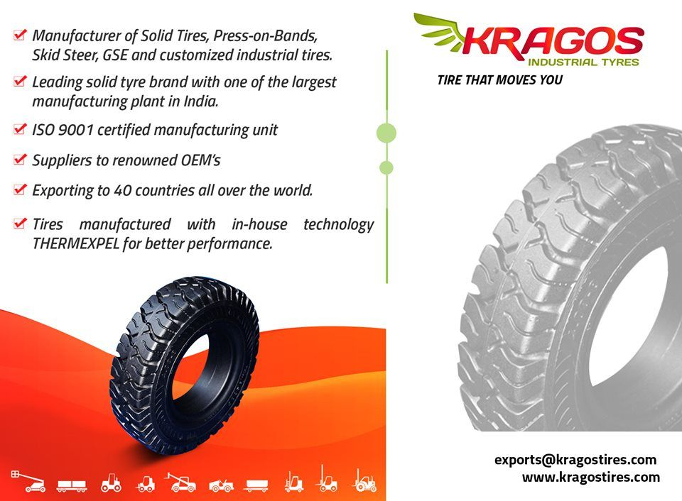 Kragos Solid Tyres Offer A World Of Advantages To The Modern Day