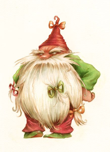 Christmas Gnome Drawing.Image Detail For Grumpy Gnome Concept Drawing Tattoo