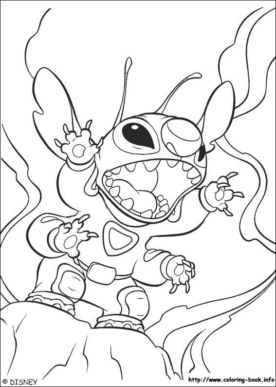 Lilo and Stitch coloring picture | first birthday ideas | Pinterest ...