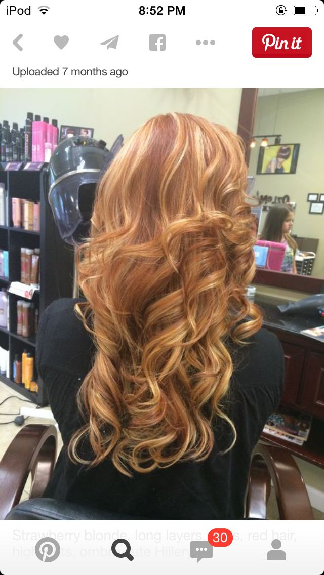 Pin By Anna Wiltbank On Hair Pinterest Hair Coloring Strawberry