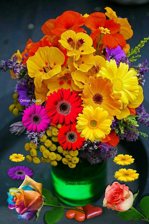 By Omran Aboali - google+ | BELLAS IMAGENES | Colorful flowers, Vintage flowers, Flowers
