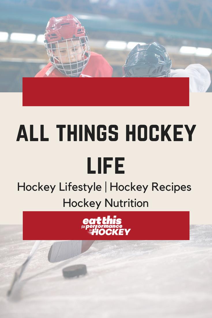 HOME Hockey lifestyle, Hockey life, Nutrition tips