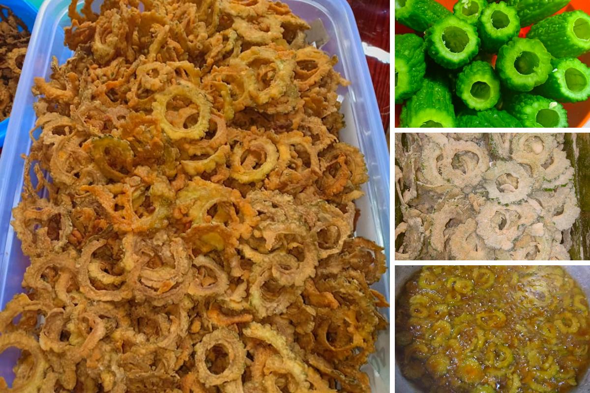 Resipi Kerepek Peria Homemade Yang Sedap Rangup Serta Boleh Tahan Lama Sesuai Dijadikan Lauk Dan Dimakan Bersama Nasi Atau Kud Pickling Recipes Food Homemade