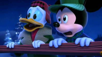 Mickey Mouse Twice Upon A Christmas.Mickey S Twice Upon A Christmas Trailer Happiest Place On