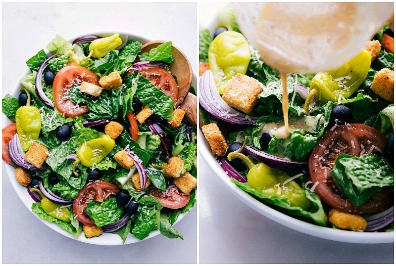 A copycat recipe for the famous Olive Garden Salad