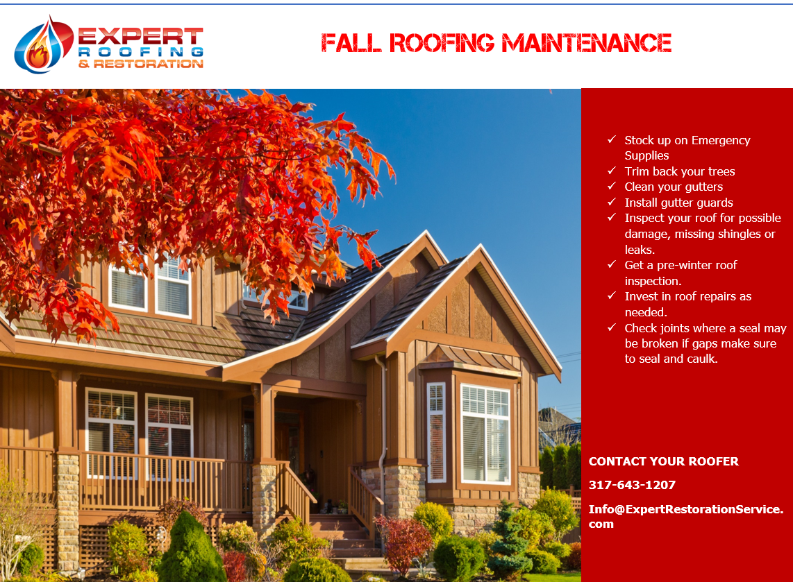 Check List For Take Care Of Your Roof This Fall Roof Inspection Roof Repair Home Maintenance