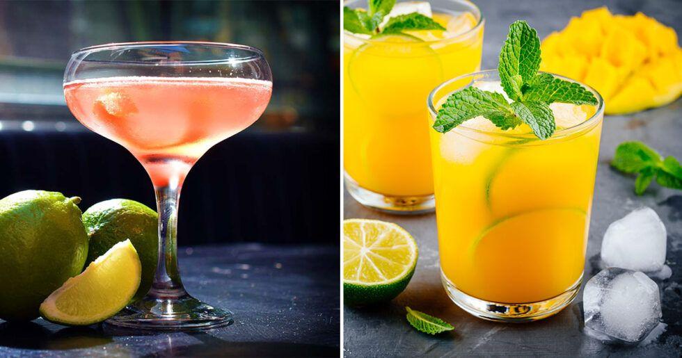 goda enkla drinkar med vodka