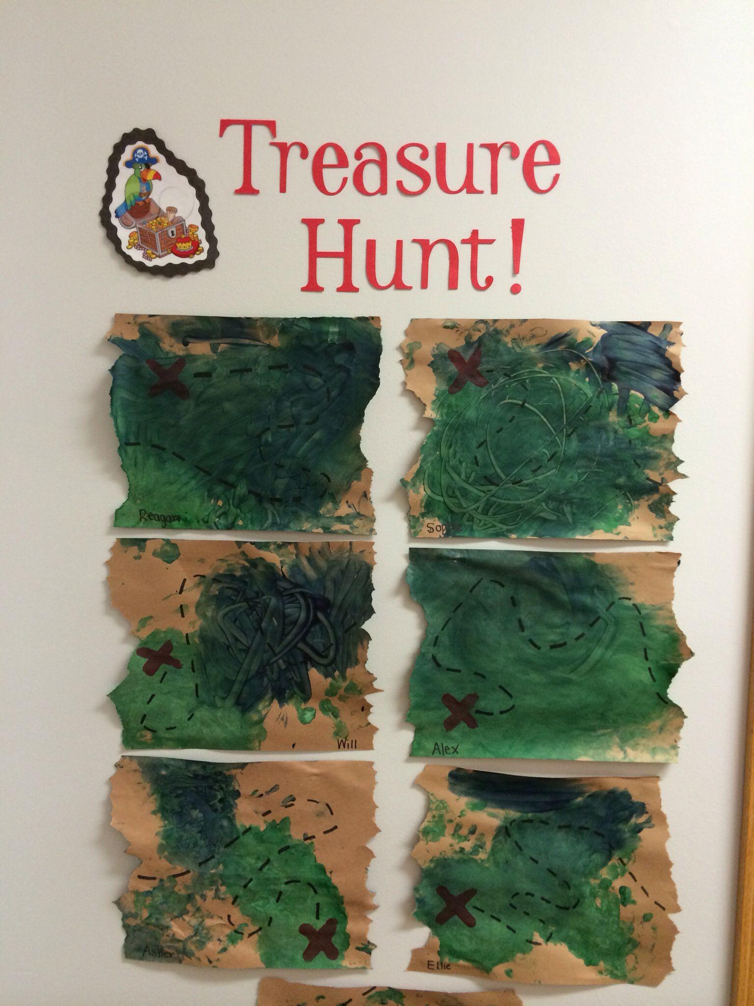 Treasure Maps Pirates Daycare Preschool