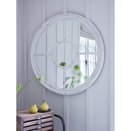 White Window Mirror - oh would really love this to create more light