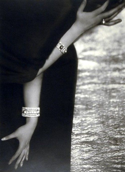 """etude de mains, ca. 1920"" by YVA  (aka Else Ernestine Neulander-Simon)"