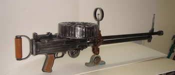 Lewis Gun Plans
