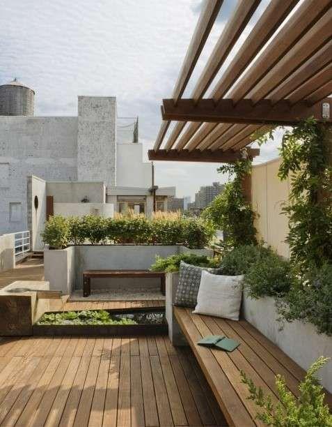 Resultado de imagen de terraza madera y plantas Studio Ideas - terrazas en madera