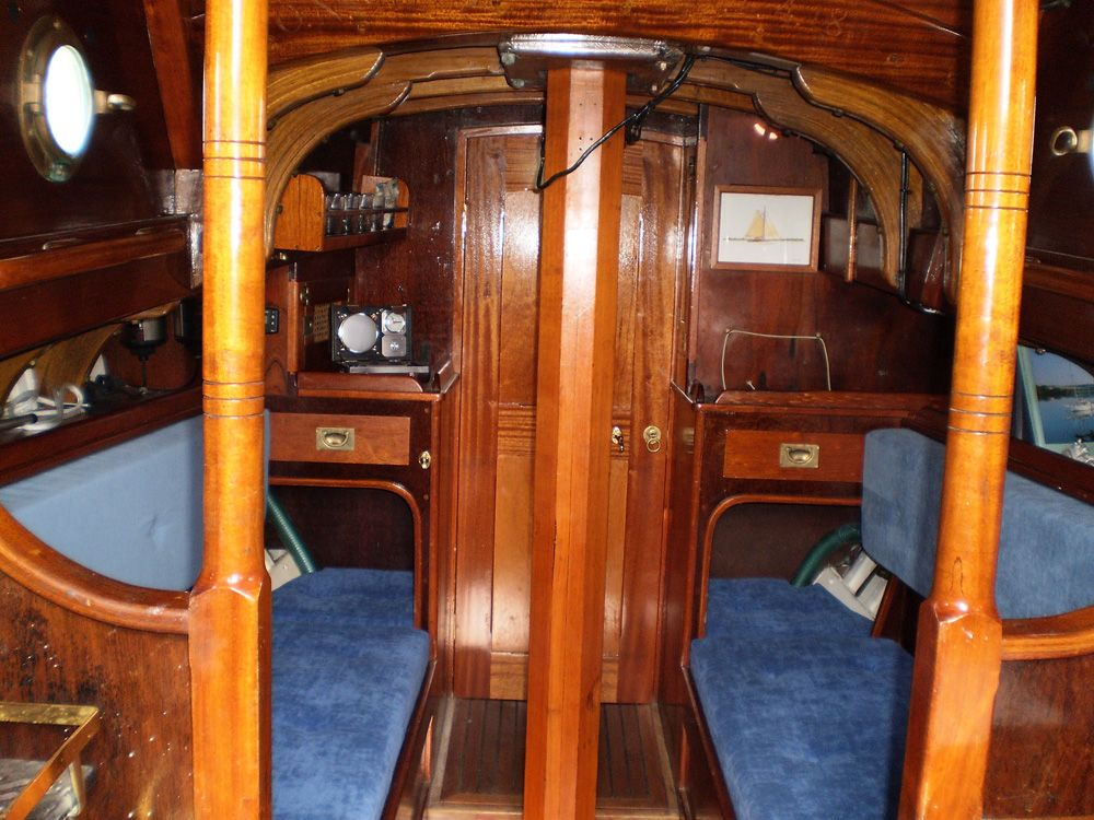 click to enlarge image of laurent giles 25 ft vertue ocean 1990 boat for sale boats. Black Bedroom Furniture Sets. Home Design Ideas