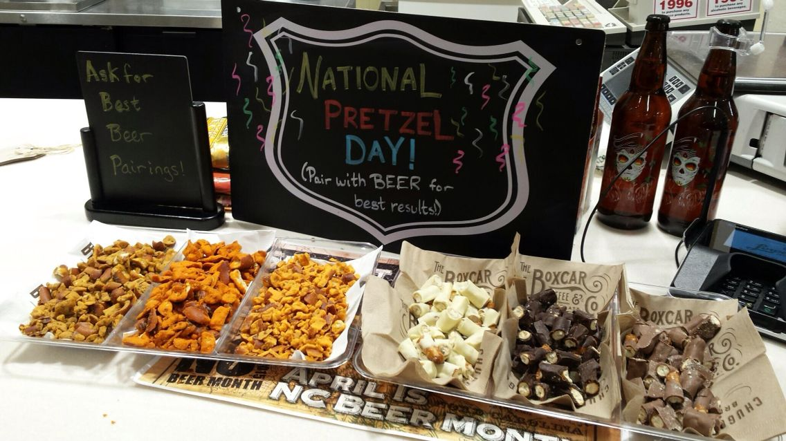 National Pretzel Day has long since passed, but the