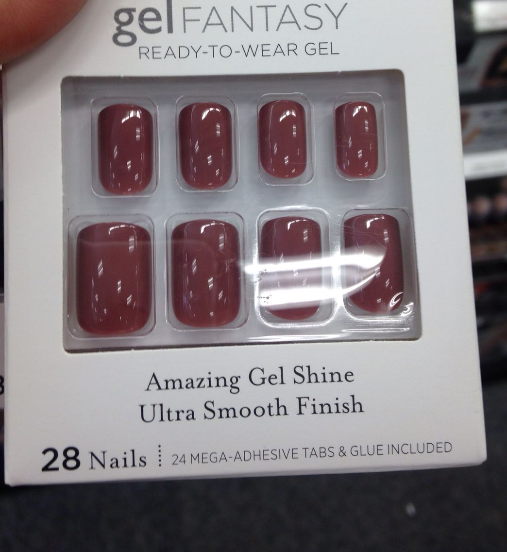 Kiss press on nails. I just like the color. | So Shady | Pinterest ...