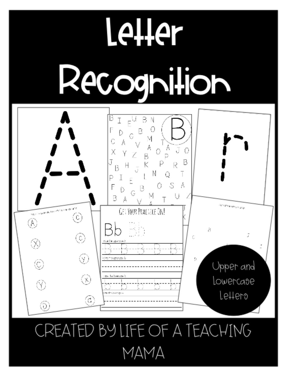 Alphabet Letter Recognition Uppercase And Lowercase