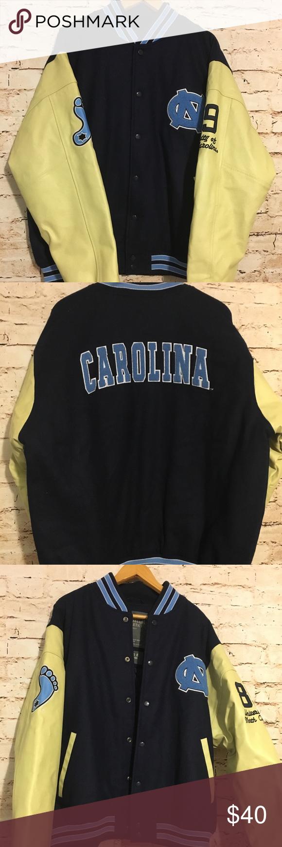 University Of North Carolina Varsity Jacket Varsity Jacket Jackets Varsity [ 1740 x 580 Pixel ]