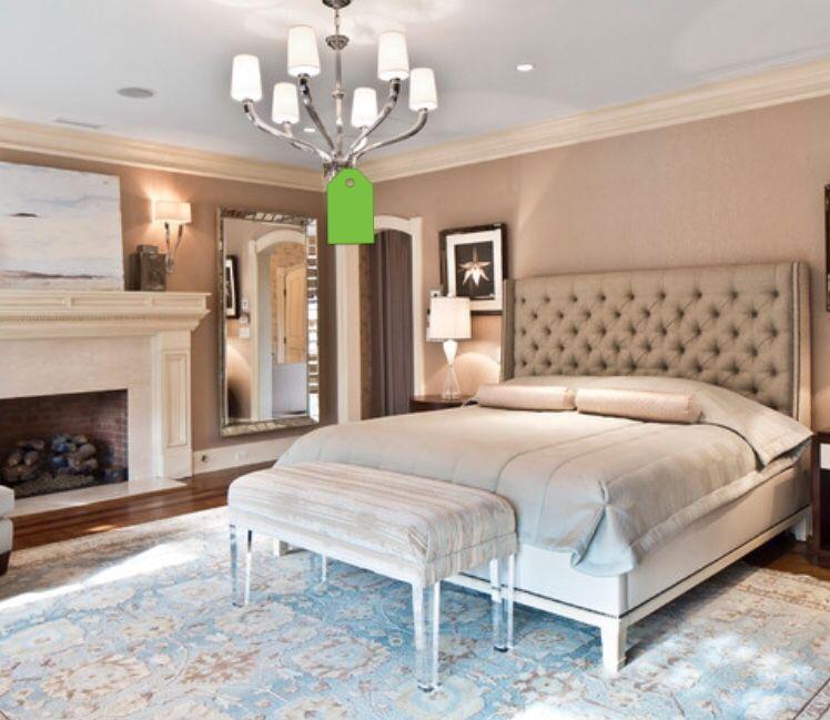 nice headboard  elegant master bedroom luxury bedroom