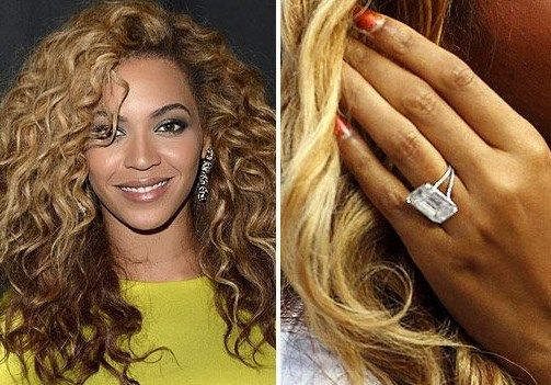 Rapper Jay Z Put An Lorraine Schwartz Ring On Beyonces Finger Back In The Couple Wed A Private Ceremony At Zs New York Apartment