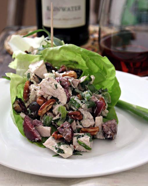 Chicken, Pecan & Tarragon Chicken Salad #paleo #primal