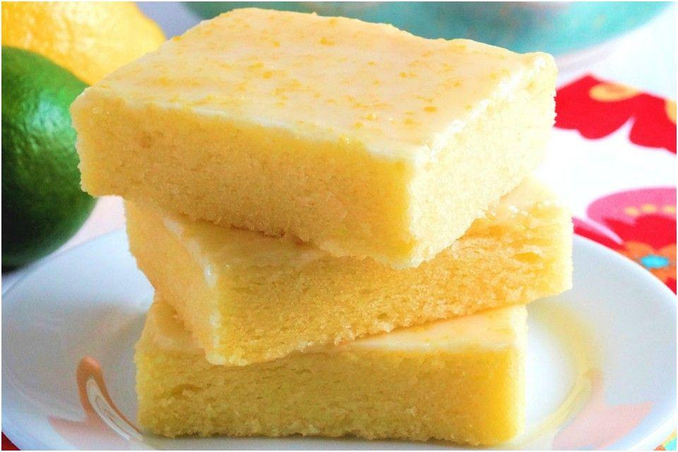Brownie de LIMÓN; una deliciosa y original receta que encantara a todos; en 2 sencillos pasos! – En el Punto