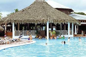 The Bahia Principe Hotel In Rio San Juan Dominican Republic Swim Up Bar