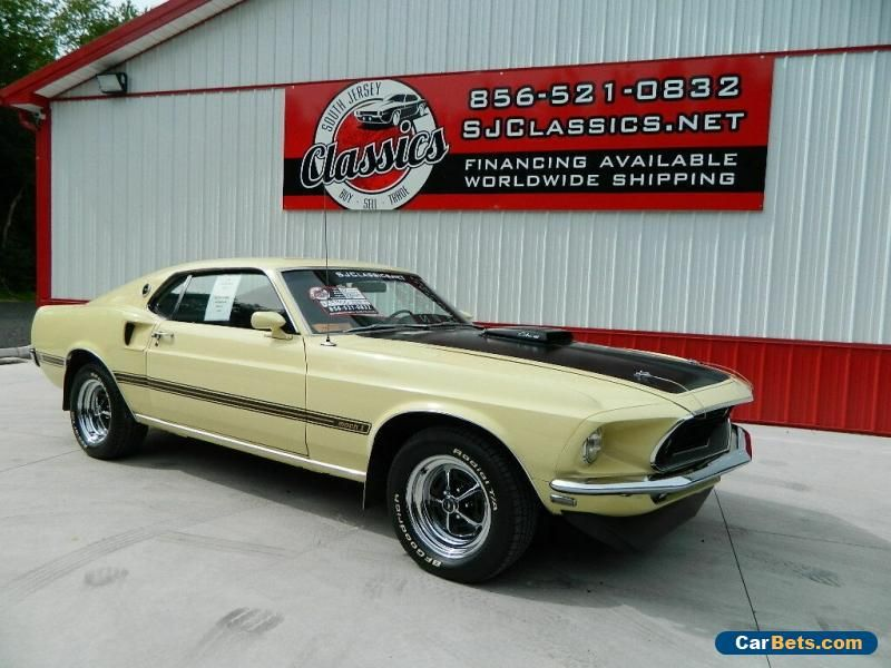 Car For Sale 1969 Ford Mustang Mach 1 Ford Mustang Ford