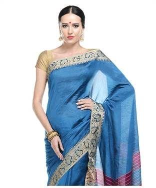 pastel blue saree - Google Search