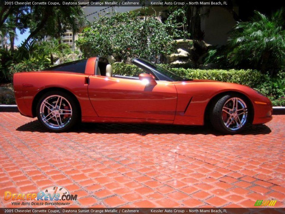 Daytona Sunset Orange Metallic 2005 Chevrolet Corvette Coupe Photo 5 2005 Chevrolet Corvette Chevrolet Corvette Corvette