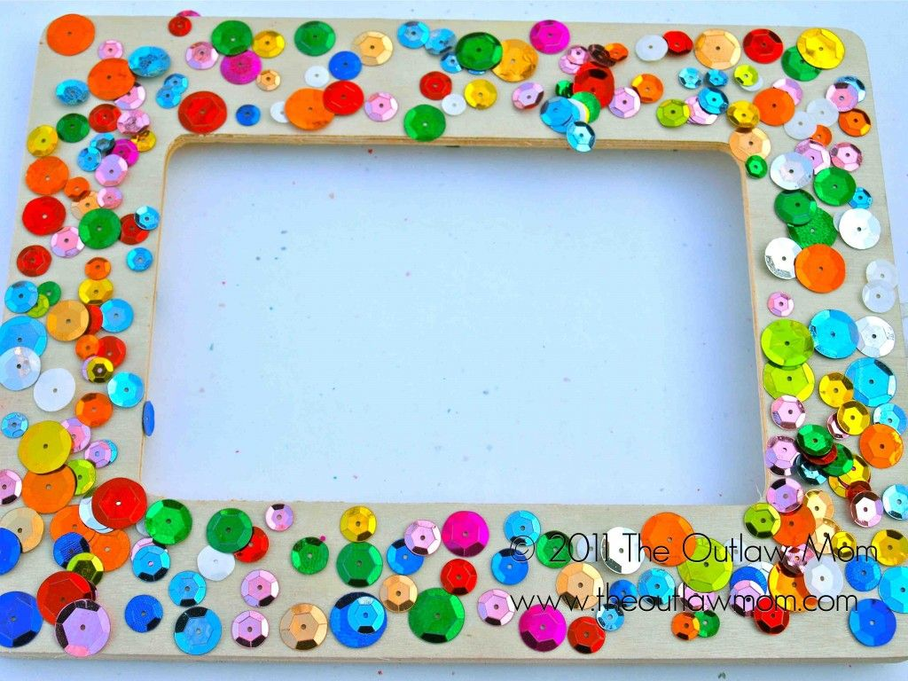 Christmas Picture Frame Craft Ideas Part - 42: Great Parent Gift To Give At Christmas · Frame CraftsArt CraftsKids ...