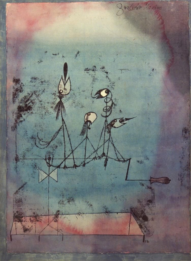 Twittering Machine >> Paul Klee Twittering Machine 1922 I Fell In Love With This